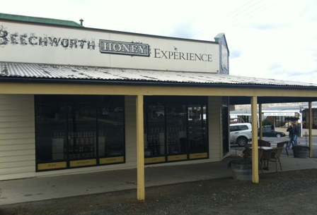 Beechworth Honey Experience storefront.
