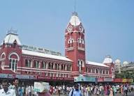 Chennai's main railway station
