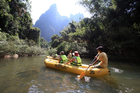 Elephant Hills kayak safari.