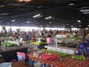 Fugalei food market in Apia.