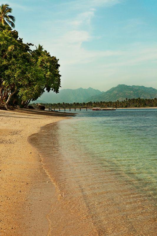 Medana Beach, Oberoi's private beach.