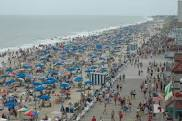 Rehoboth Beach boardwalk in summer, great if you like crowds