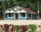 One of many churches in Samoa.