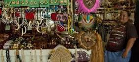 Savololo Flea Market scene.