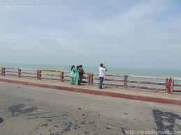 Sea front at Chennai