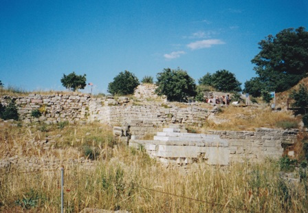 The ancient ruins of Troy are multi-layered.