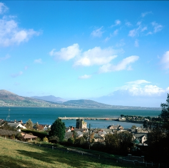 Carlingford, County Louth on the way to 'The North'.
