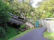 Karori Wildlife Sanctuary entrance.
