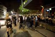 Wellington nightlife can be quite busy.