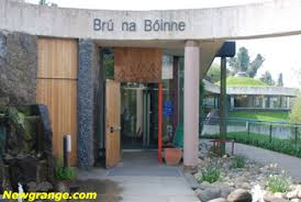 Bru na Boinne Visitors Centre entrance.