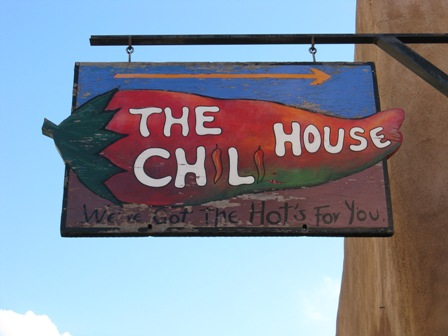 Santa Fe shop sign.
