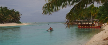 Cook Islands paddling