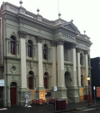Daylesford Town Hall facade