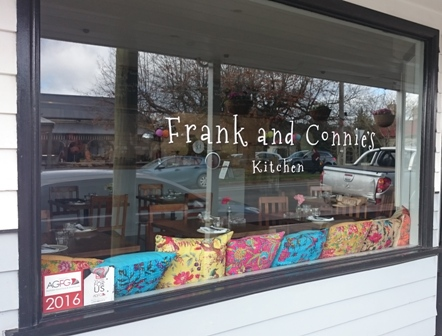 Frank and Connie's bistro dining