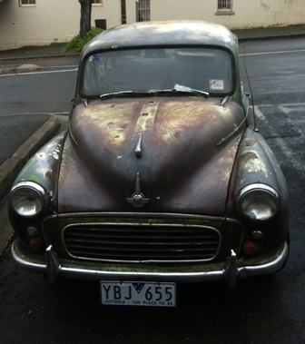 Daylesford is full of surprises, including well-loved cars