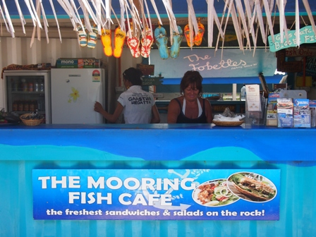 The Moorings Fish Cafe on Rarotonga