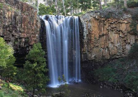 Trentham Falls photo by Tim Fischer