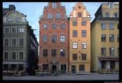 Gamla Stan buildings in Stockholm