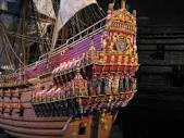 Stern of Vasa ship in Vasa Museum