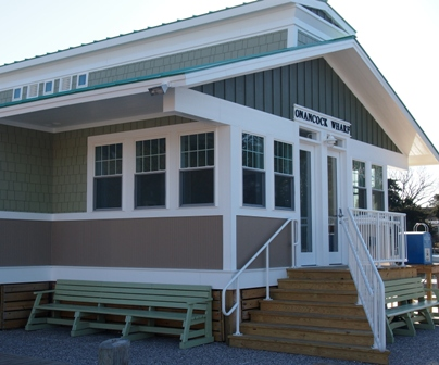 Onancock harbour authority building