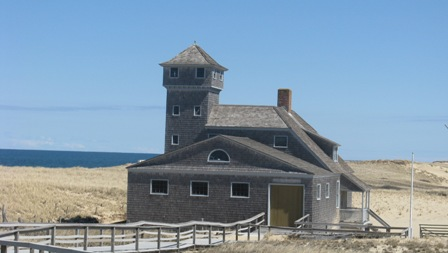 Cape Cod Race Point Lifesaving station house