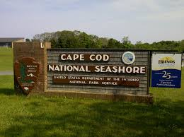 Cape Cod visitor's center sign