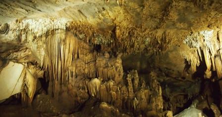 Inside Lawa cave