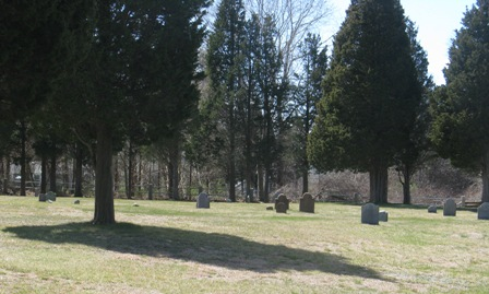 Mayflower graves cemetery