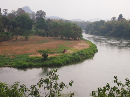 River Kwai at Wang Po