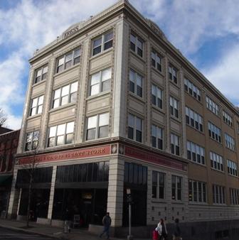 Asheville Art-Deco the Kress building