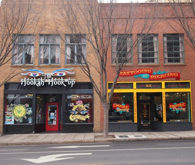 Asheville shops