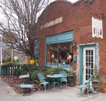 Jane Bess pottery shop