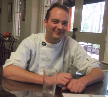 Head chef and manager Ben Bergmann at Mountain View Hotel
