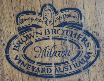 Brown Brothers barrel