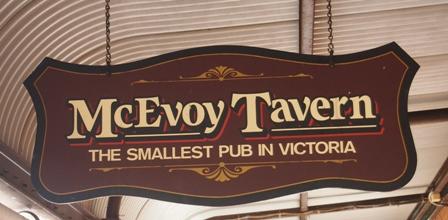 McEvoy tavern sign