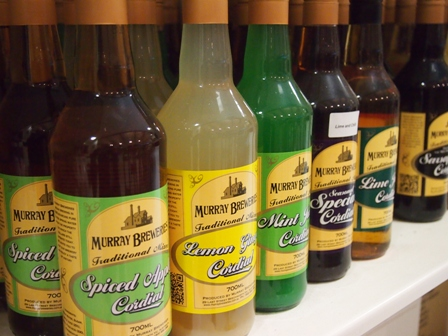 Snow Road Produce Murray Brewery cordials