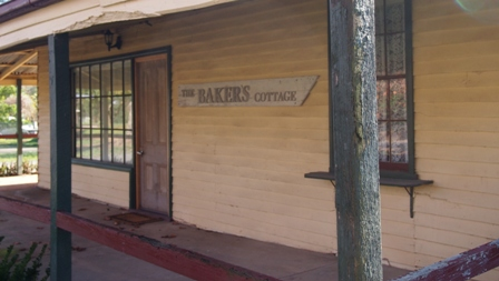 The Baker's Cottage in Eldorado