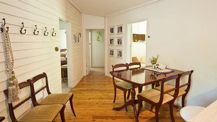 The Baker's Cottage dining area