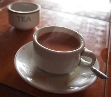 Burmese tea, 'lapayee'.