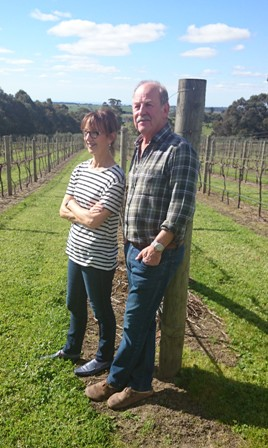 Herman and Vicki Welcher of Babenorek Wines and Olive Grove