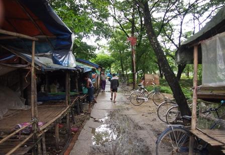 Dalah market laneway