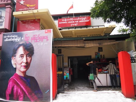 NLD headquarters