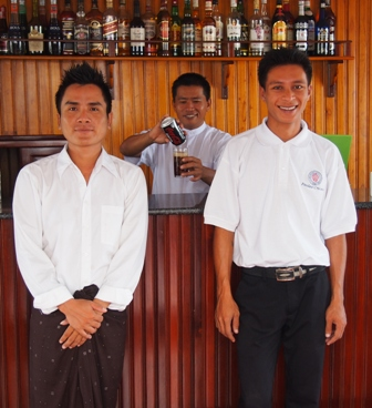 Best bartenders on board RV Orient Pandaw