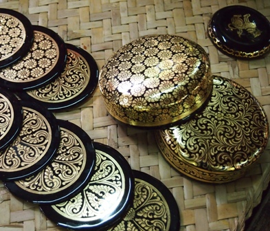 Lacquer ware in Myanmar