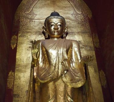 Temple Buddha Pagan