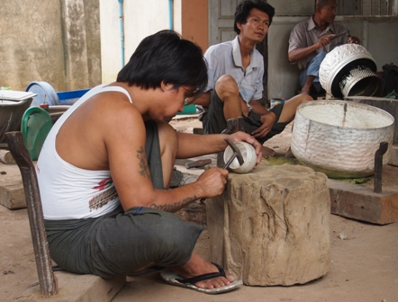 Mandalay silversmiths
