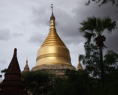 Sunlight on pagoda