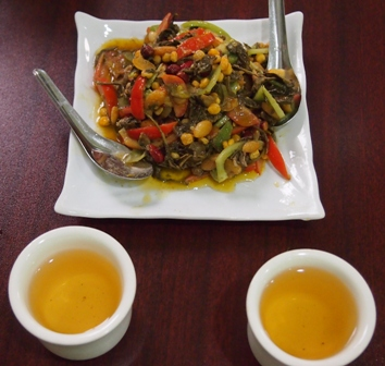 Best tea leaf salad in Mandalay