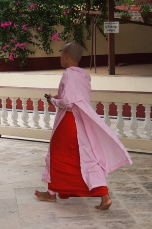 Young nun at Sagaing