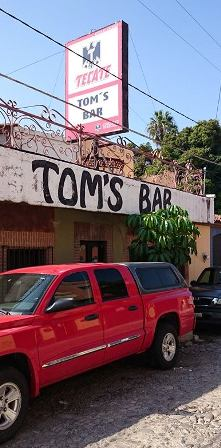 Tom's Bar in Ajijic
